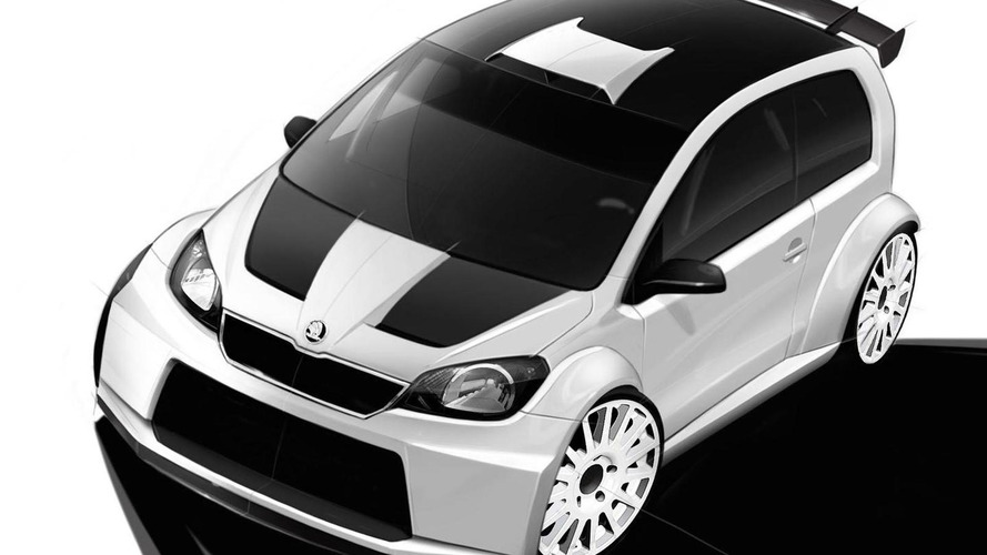 Skoda Citigo Rally concept teased for Worthersee 2012