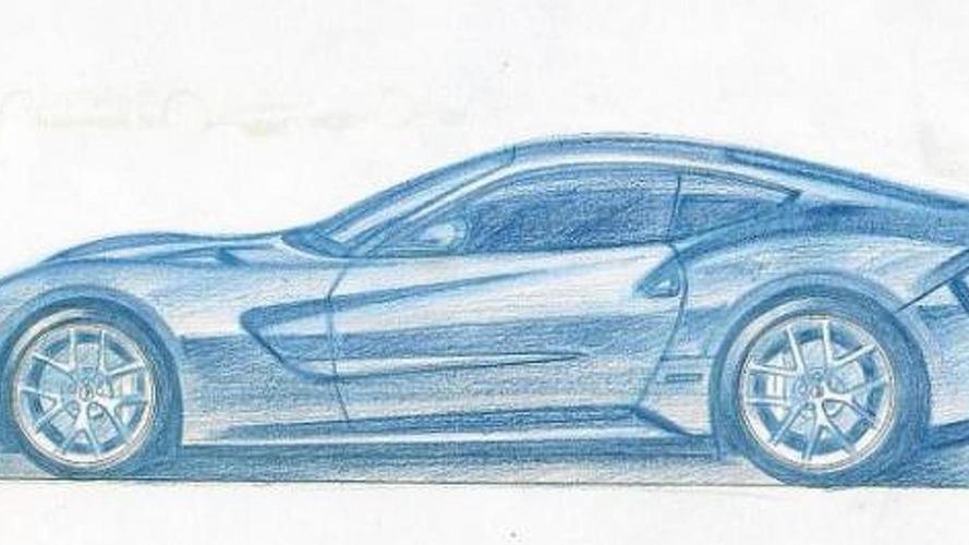 Ferrari 620 GT unofficial sketch