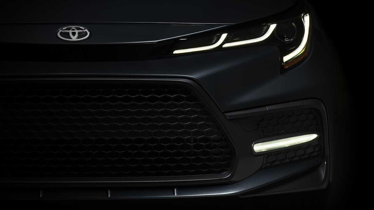 2020 Toyota Corolla Sedan teaser