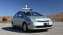 Google self driving car- based on Toyota Prius