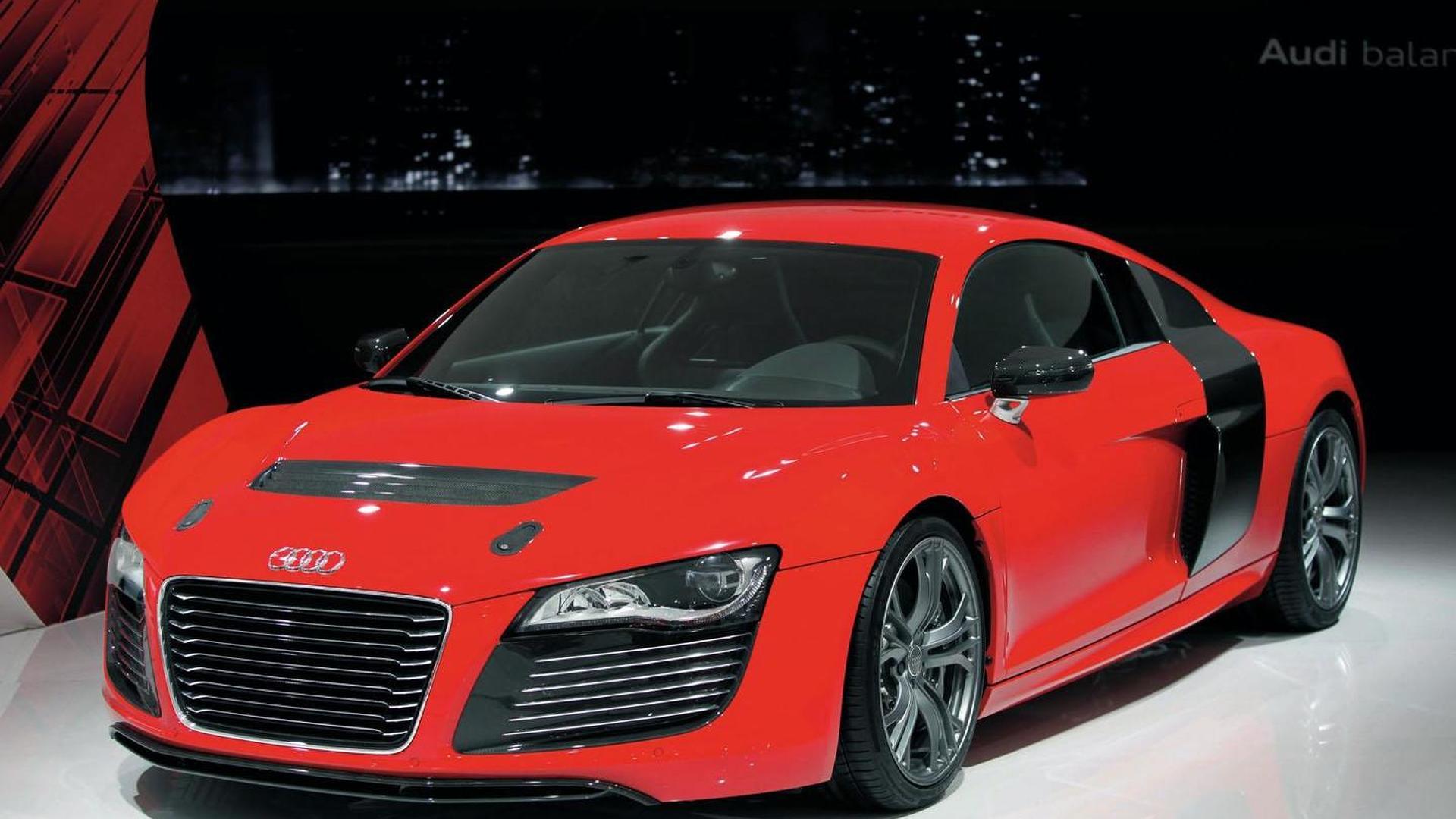 Audi R ETron Prototype Unveiled - Audi r8 e tron