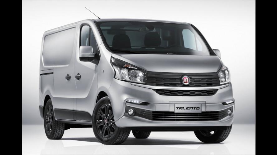 Fiat Talento füllt Lücke zwischen Doblò und Ducato