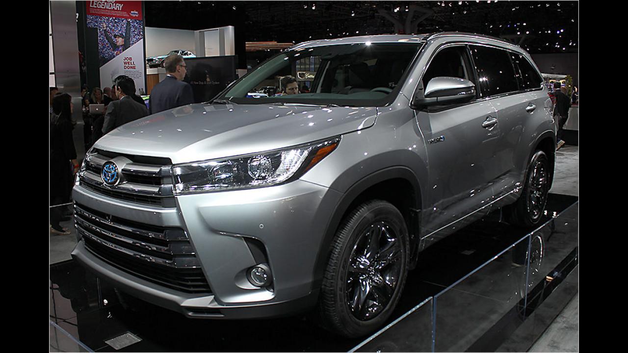 Toyota Highlander Facelift