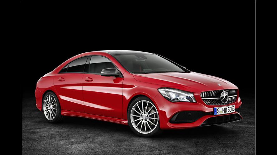 Modellpflege für Mercedes CLA und CLA Shooting Brake