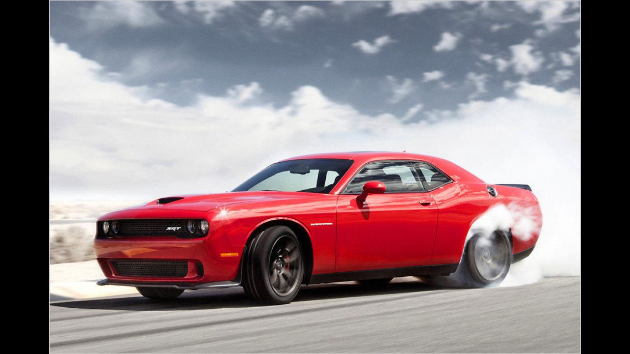 Top: Dodge Challenger Hellcat