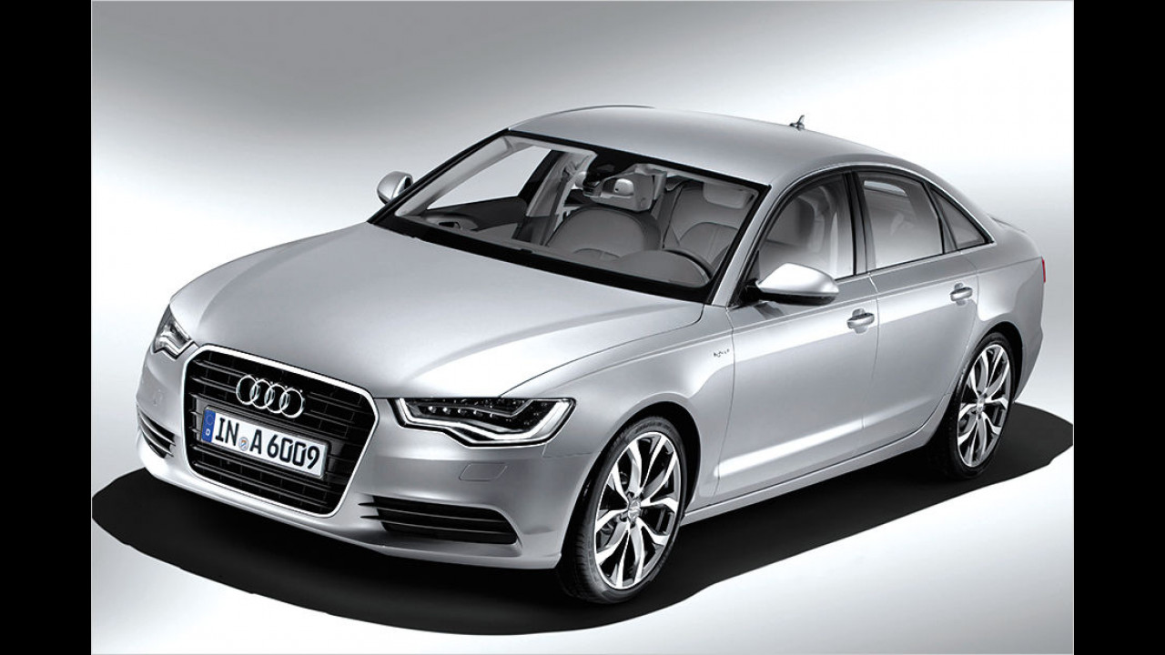 Audi A6 hybrid: 245 PS