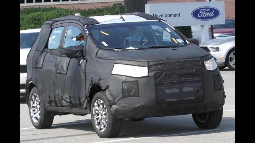 Ford erprobt SUV auf Basis des Fiesta