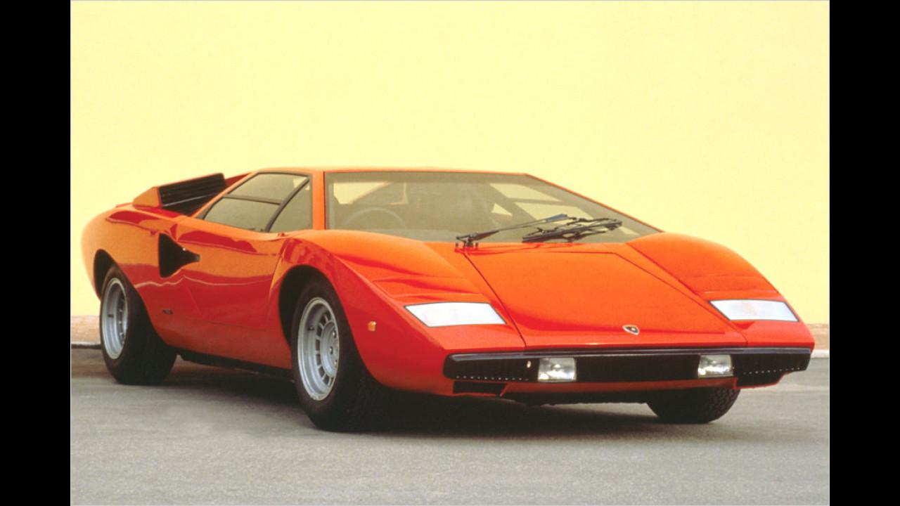 Lamborghini Countach LP 400: 309 km/h