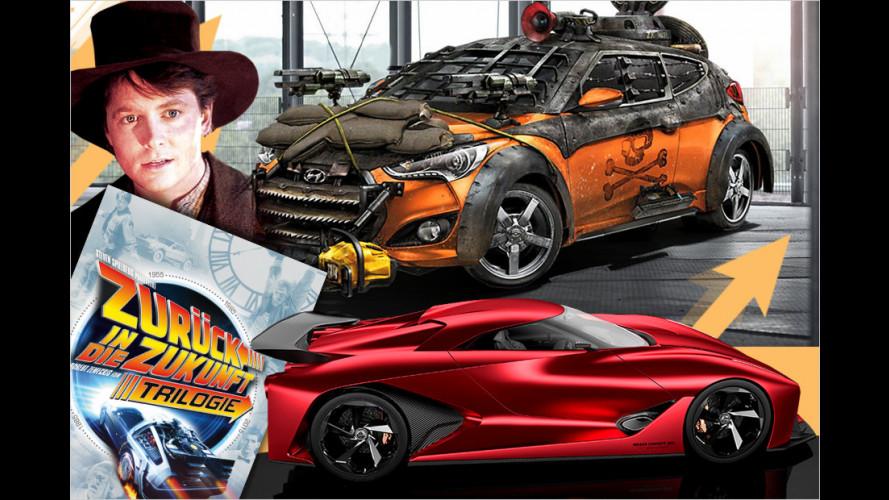 Neue Zeitmaschinen für Marty McFly