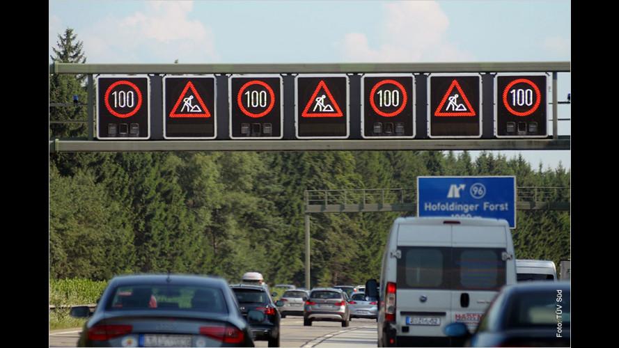 Sichere Fahrt durch Autobahnbaustellen