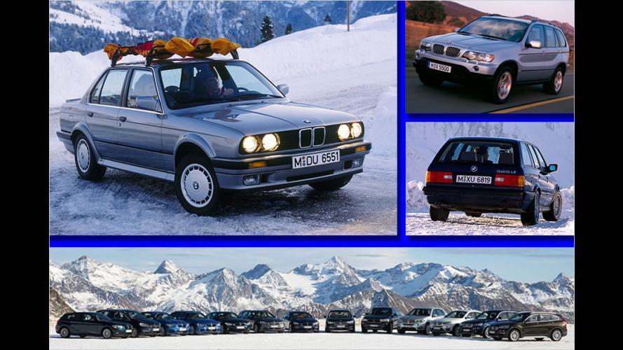 30 Jahre BMW-Allrad-Fahrzeuge