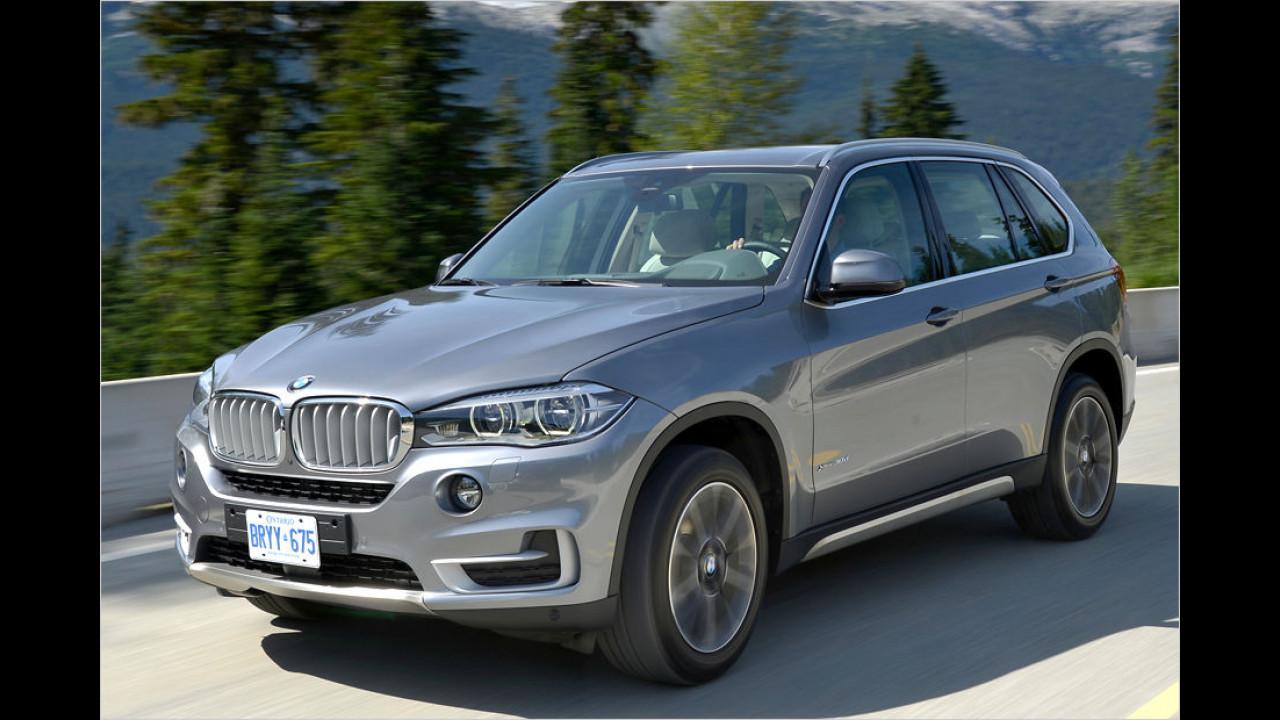 Platz sieben: BMW X5 3.0 SD