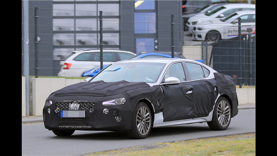 Hyundai Genesis G70 als Erlkönig