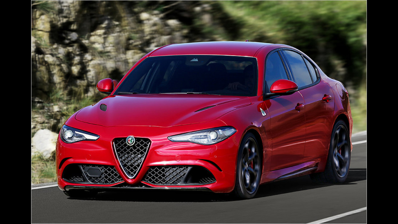 Alfa Romeo Giulia: 7:39 Minuten (schnellste Limousine)