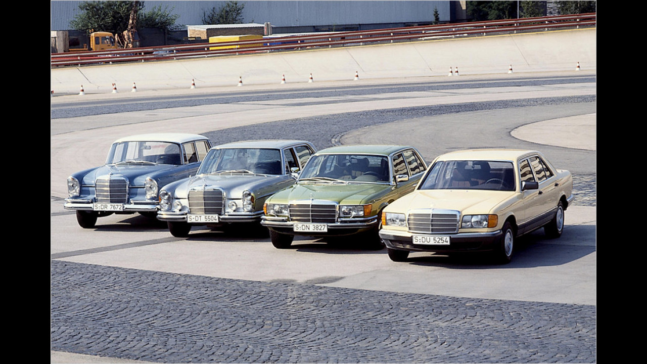 Mercedes W 126 (1979)