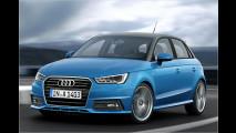 Dreizylinder-Motoren in einem Audi