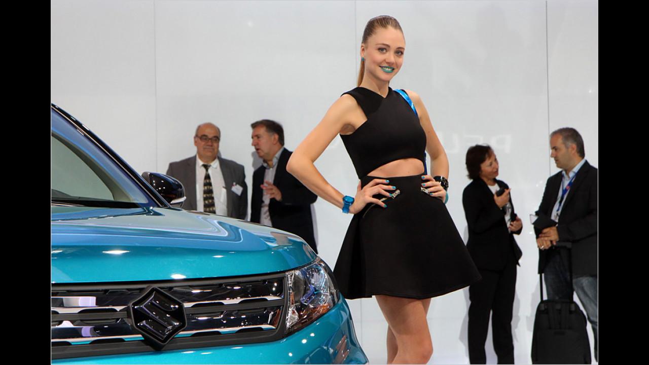 Die Farbe soll zum Auto passen? Ist der Susi neben dem Suzi perfekt gelungen, zumindest teil- und lippenweise