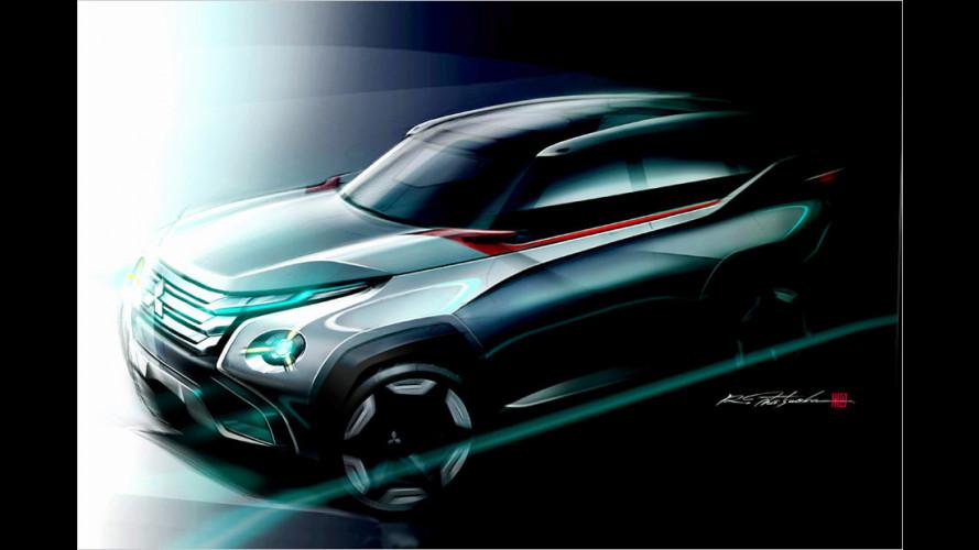 Tokio 2013: Mitsubishi zeigt SUV-Studien und Mikrovan
