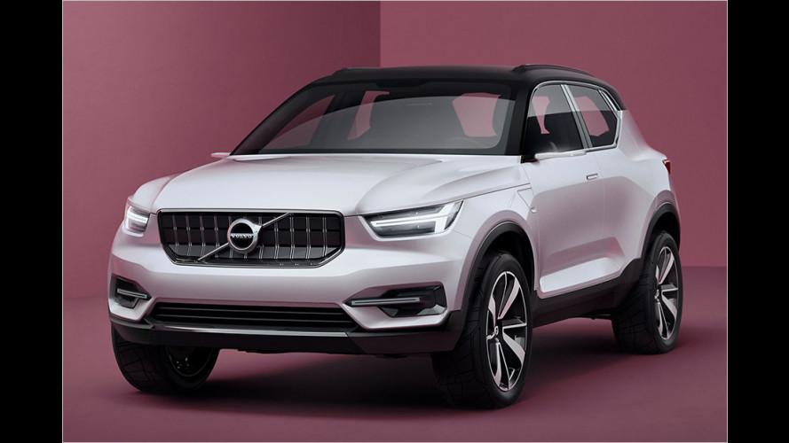 Volvo: Erster Blick auf V40 und XC40
