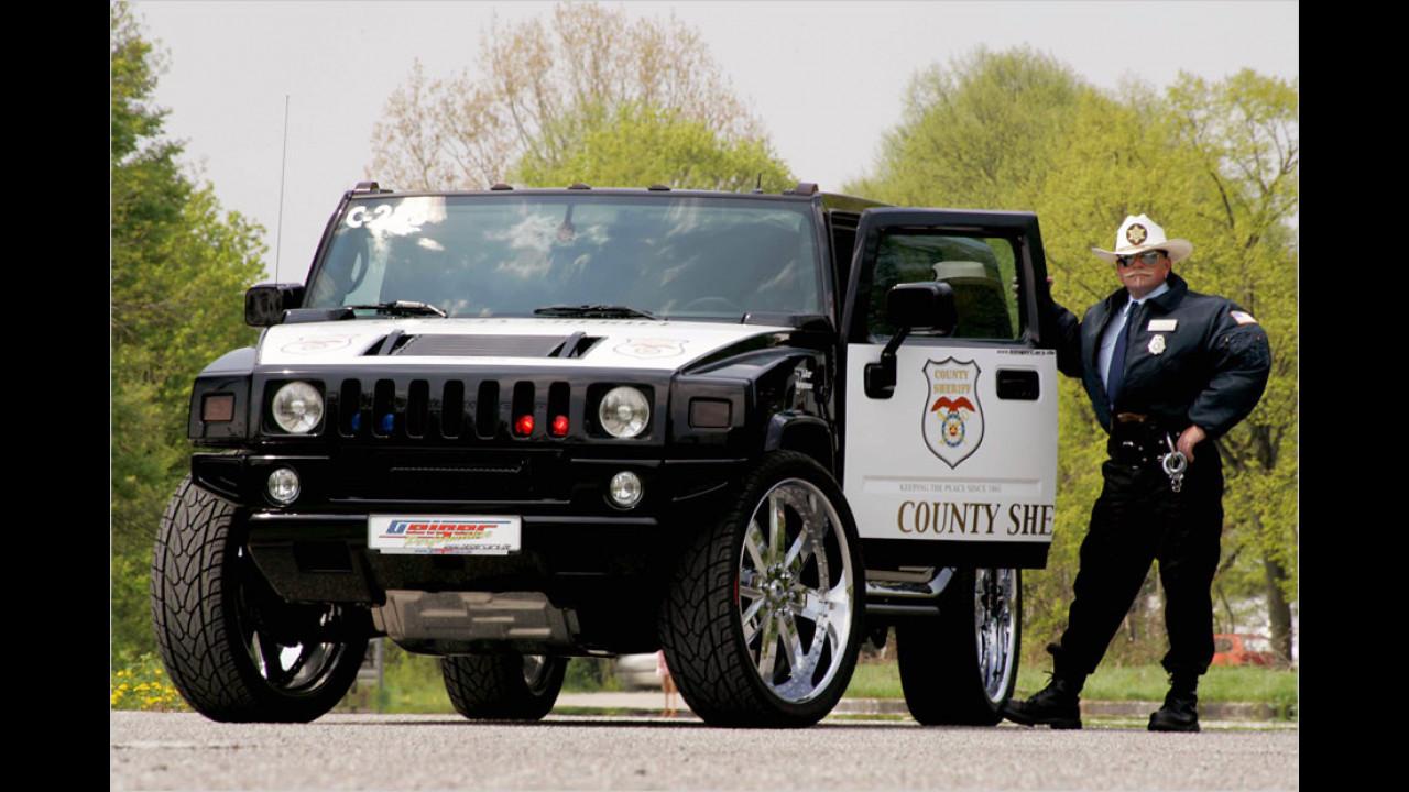 Sheriff-Hummer von Geiger Cars