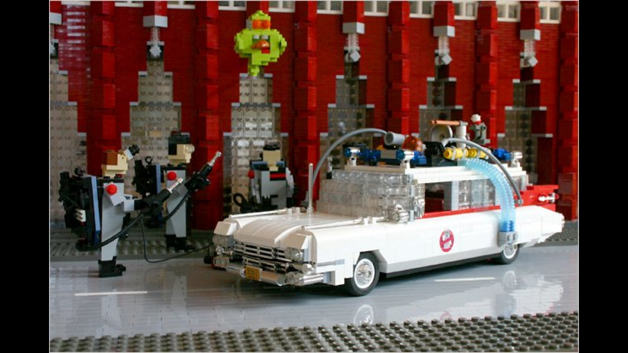 Ghostbusters: 1959er Cadillac Miller-Meteor Ecto-1