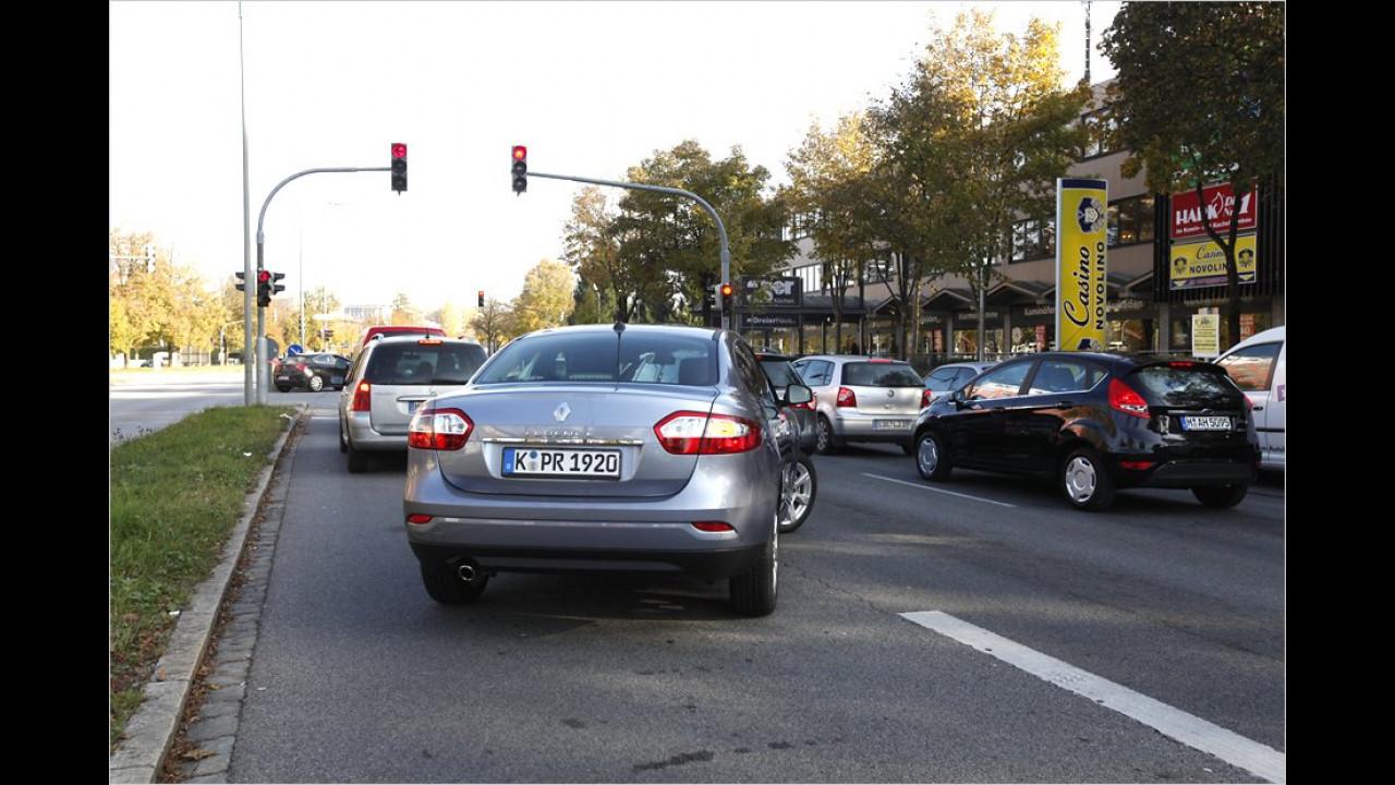 Platz 7: Autofahrer, die nicht wissen, wo sie hinwollen (6 Prozent)