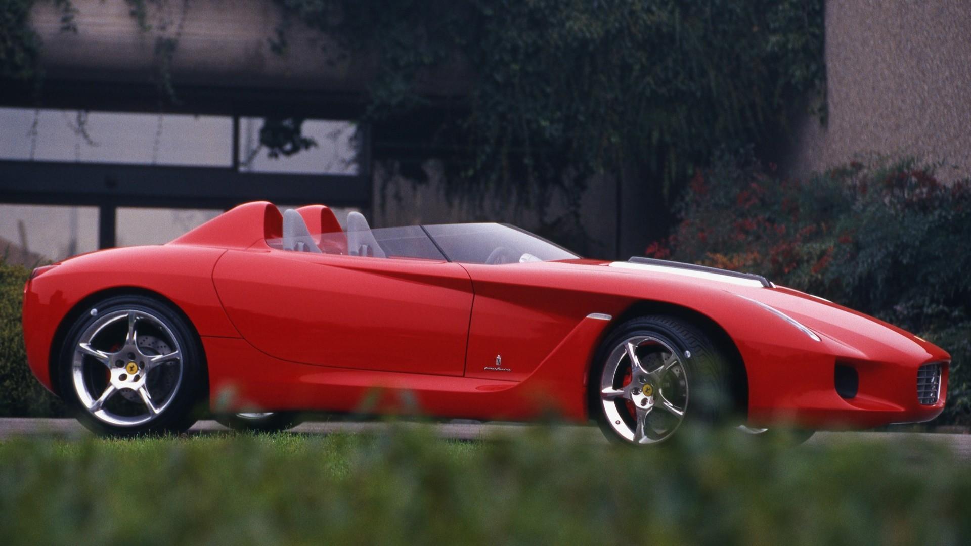 Concept We Forgot 2000 Ferrari Rossa