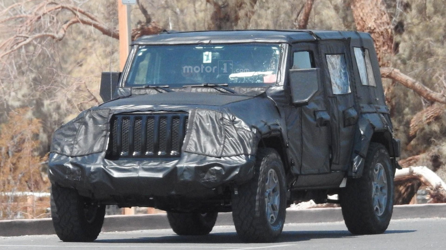2018 Jeep Wrangler heading to Los Angeles Auto Show?