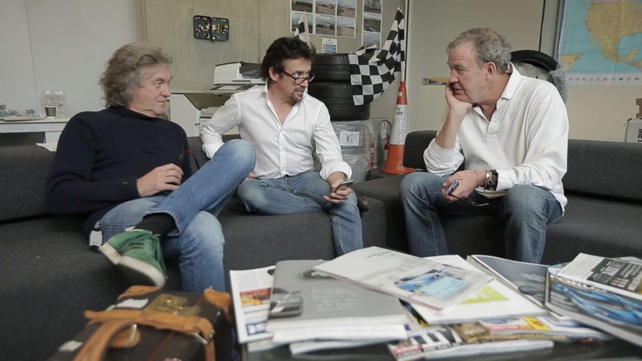 Clarkson, Hammond ve May yeni programlarına ne isim koyacaklarını bilmiyorlar