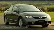 Honda New Civic 2010 ganha nova versão intermediária LXS C por R$ 65.990