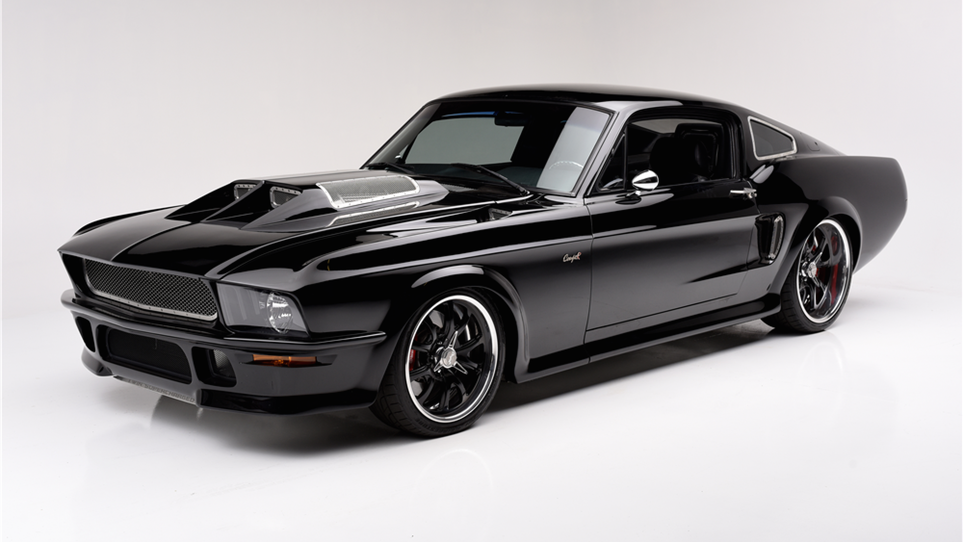 800 Hp Obsidian Ford Mustang Took 1 3 Million To Build