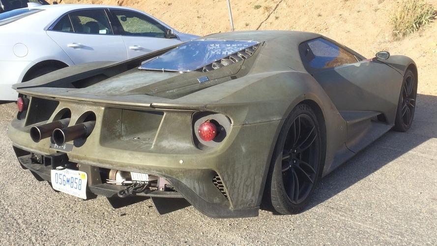 Vidéo - Ultimes tests sur route pour la Ford GT !