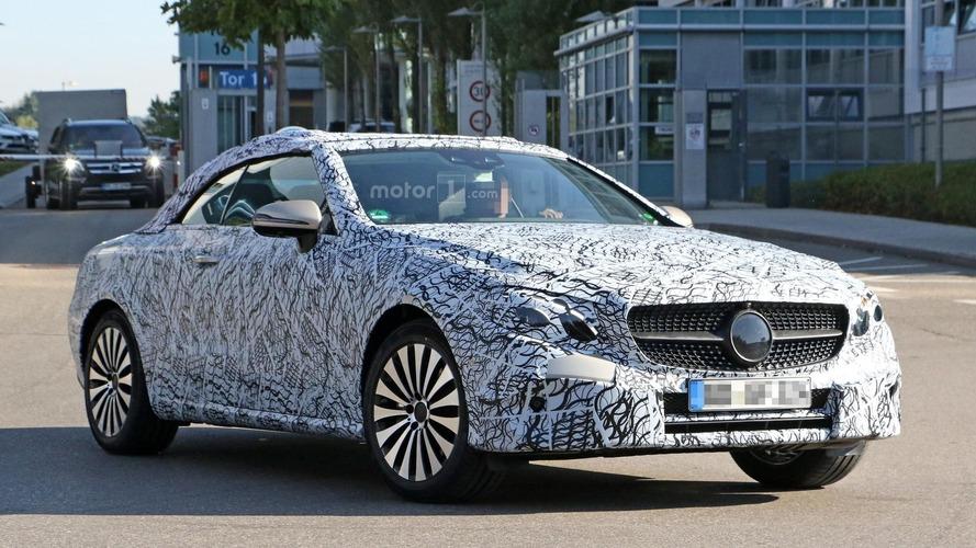 Mercedes Classe E - Les spyshots de la version découvrable