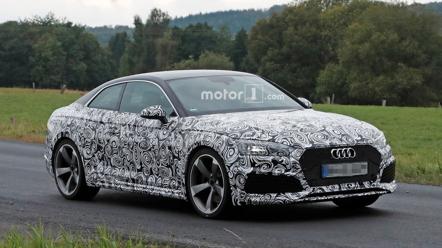 La future Audi RS 5 se découvre de plus en plus