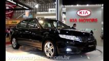 Salão do Automóvel 2008 - Novo sedan Kia Magentis chega ao Brasil por 74.900
