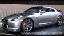 Salão do Automóvel: Nissan GT-R - O brilho do superesportivo de 480 cavalos!