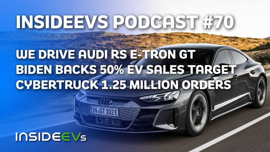We Drive Audi RS E-Tron GT, Biden Sets 2030 50% EV Sales Target