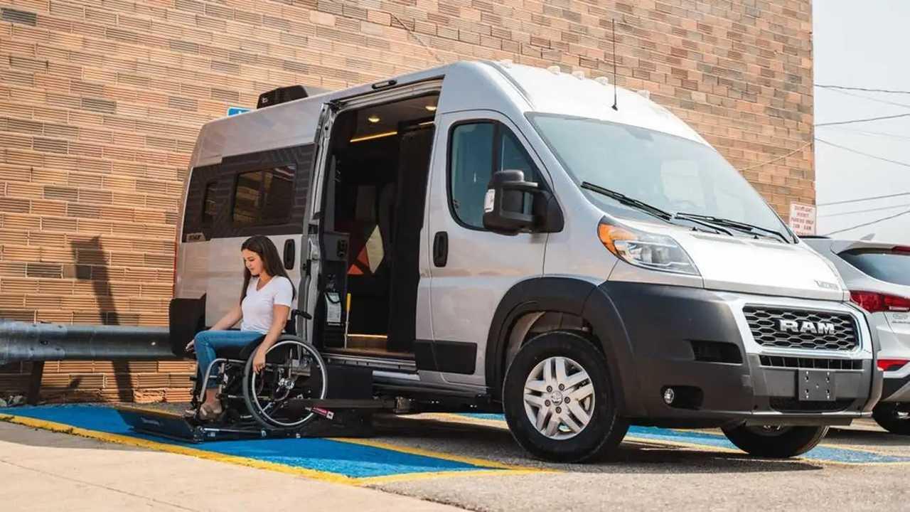 Winnebago Roam, camper para discapacitados