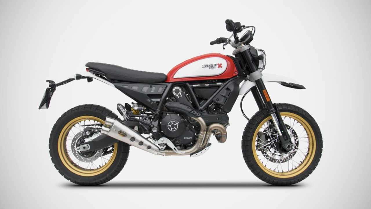 Zard Releases Special Edition Exhaust For Ducati Scrambler Desert Sled