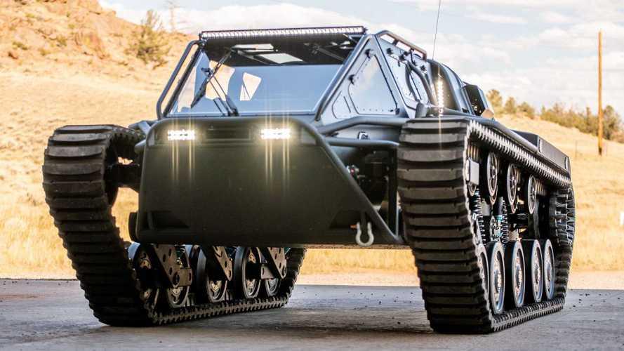 Découvrez le Ripsaw EV3-F4, un luxueux tank de 800 chevaux