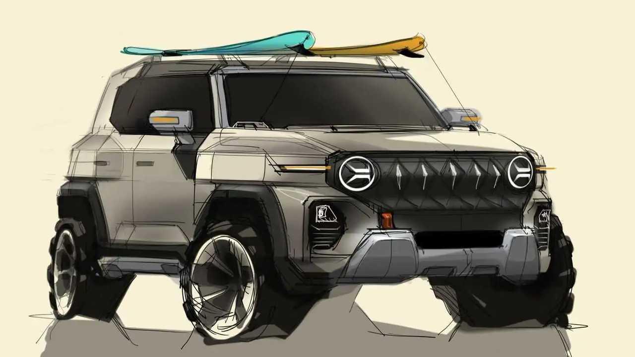 SsangYong X200: Neue Elektroauto-Studie