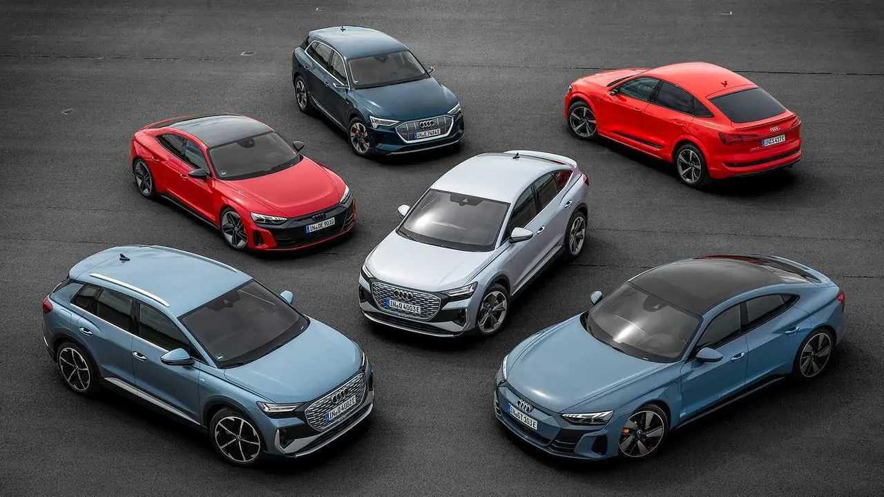 Gamma elettrica Audi