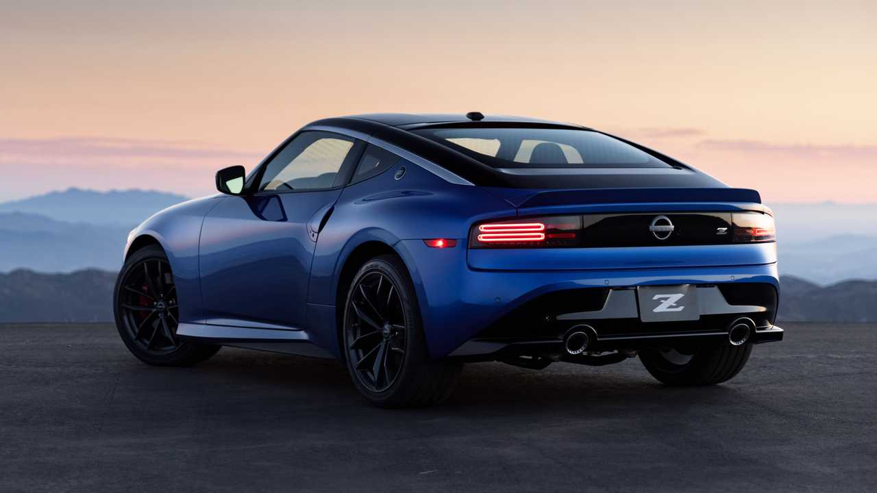 2023 Nissan Z rear design