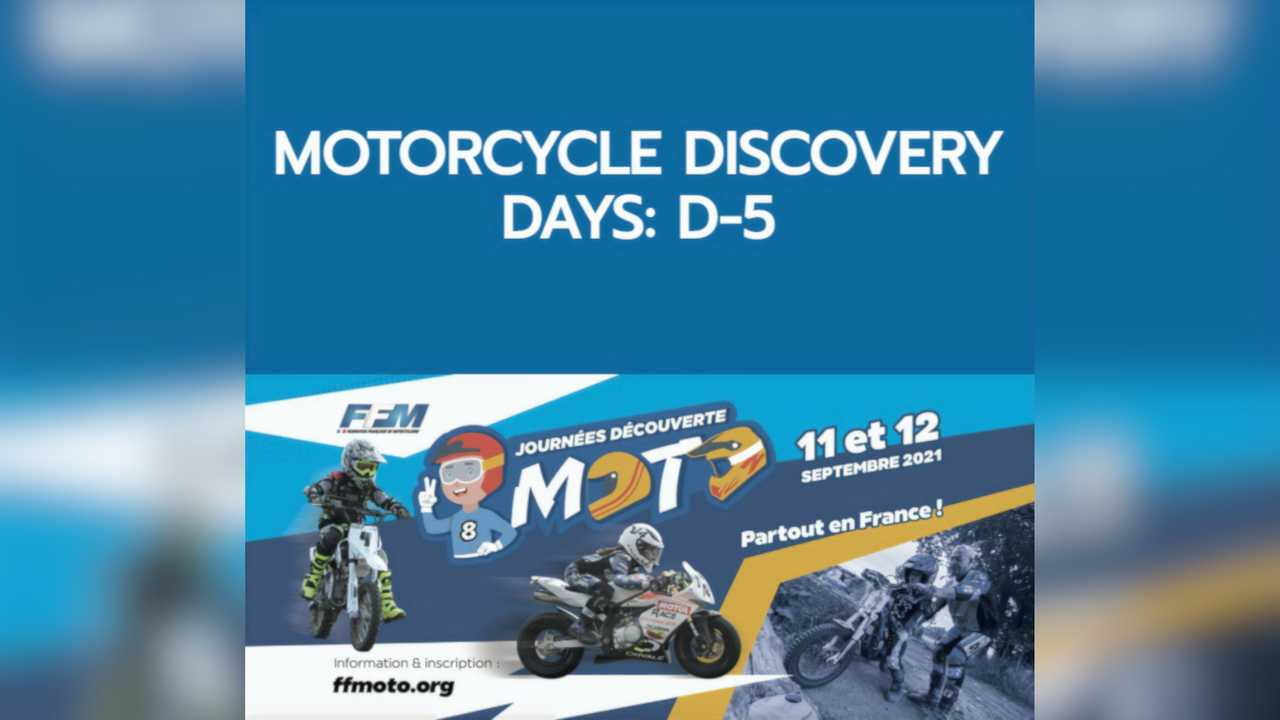 2021 Motorcycle Discovery Days France
