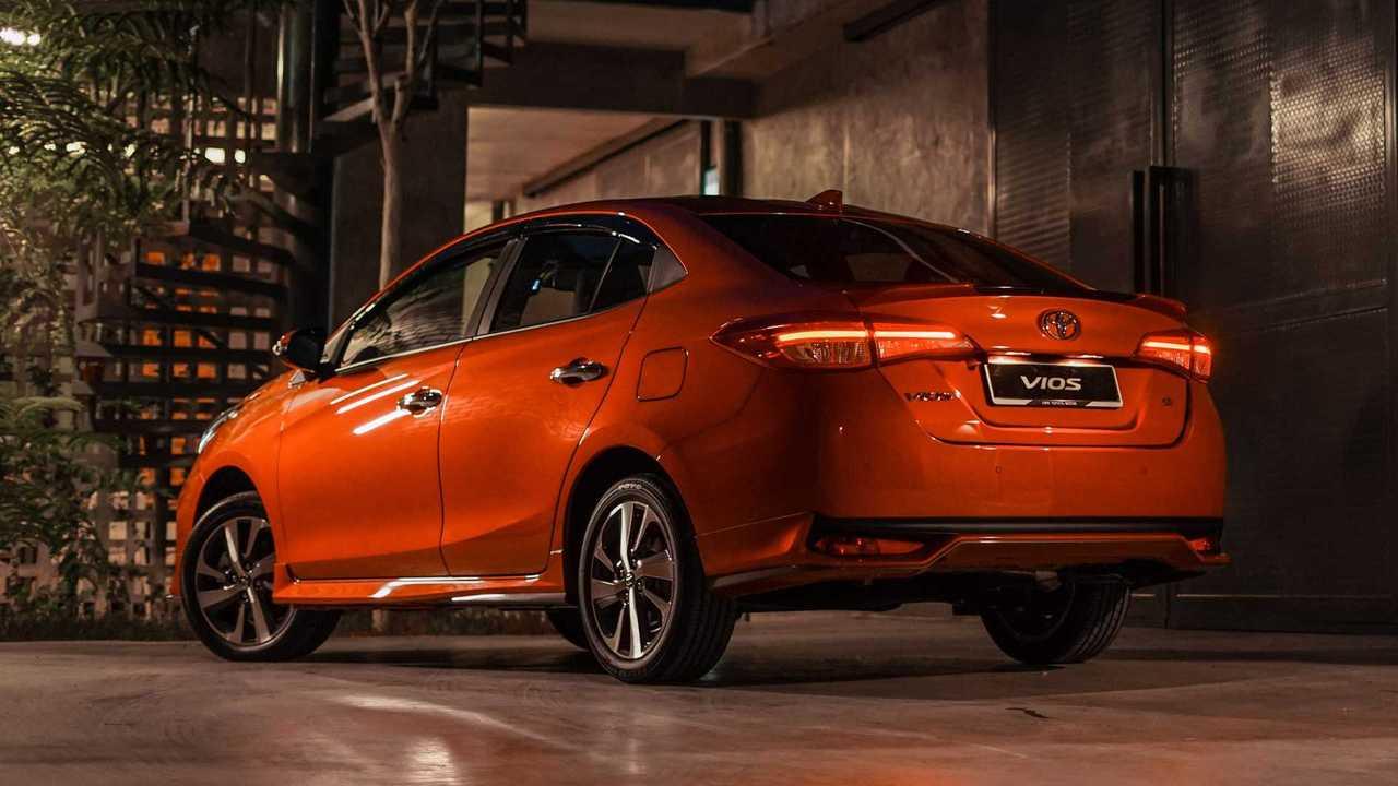 Toyota Vios - o Yaris asiático