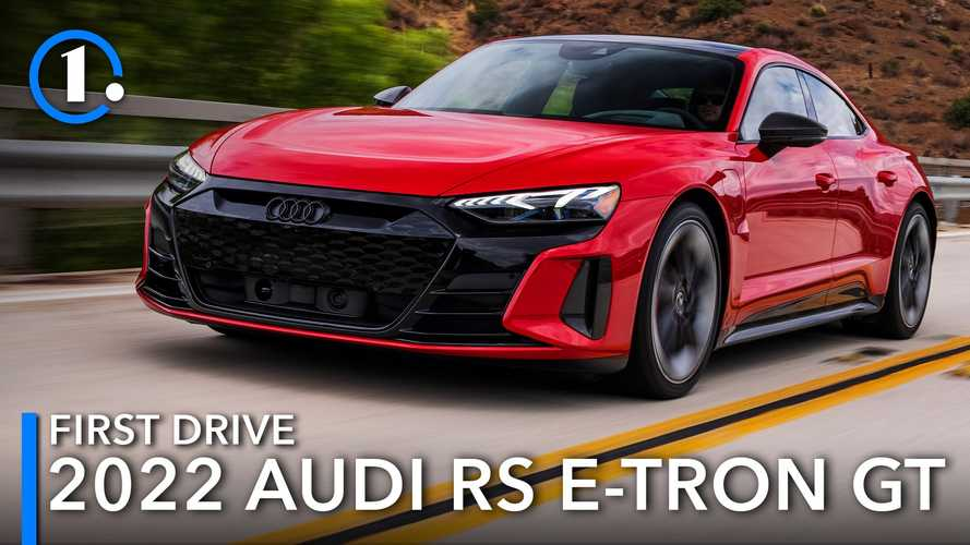 2022 Audi RS E-Tron GT First Drive Review: Electrified Confidence