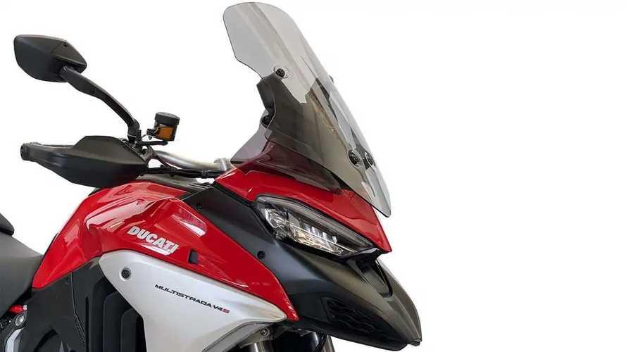 WRS Windscreens: Ducati Multistrada V4