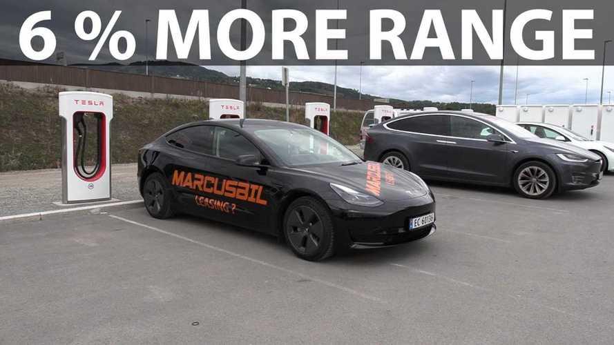 Updated MIC Tesla Model 3 SR+ Gets 6% More Range In New Test