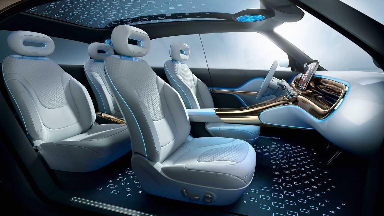 Le prime immagini della smart Concept #1
