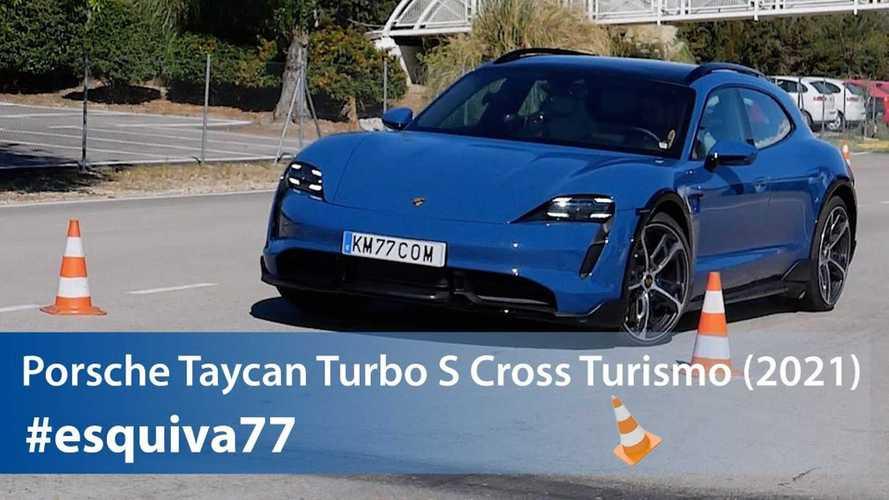 Saksikan Porsche Taycan Cross Turismo Melakoni Moose Test